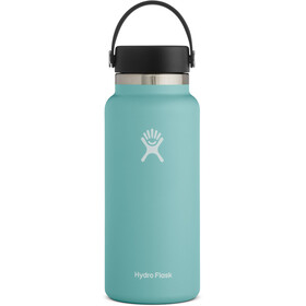Hydro Flask Wide Mouth Bidón con Tapa Flex 946ml, Turquesa